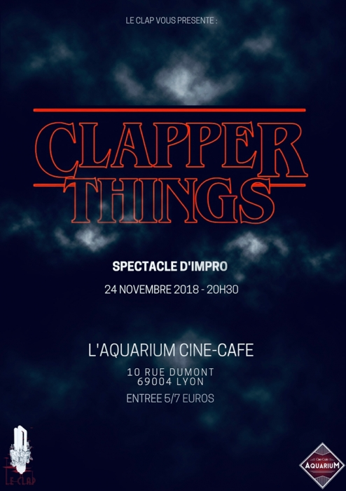 Affiche du spectacle Clapper Things